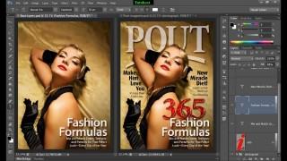 ফটোশপ টিউটোরিয়াল পর্ব-৩৫ (Text Design on Magazine)