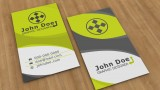 বিজনেস কার্ড ডিজাইন পর্ব-৪০ (Vertical Card Back)
