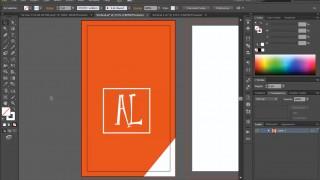 বিজনেস কার্ড ডিজাইন পর্ব-৩৯ (Vertical Card Design 2)