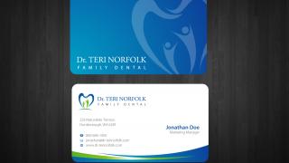 বিজনেস কার্ড ডিজাইন পর্ব-৪৩ (Horizontal Card Design 2)