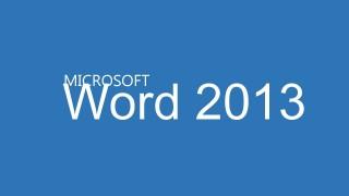 মাইক্রোসফট ওয়ার্ড ২০১৩ পর্ব-০২ (User Interface)