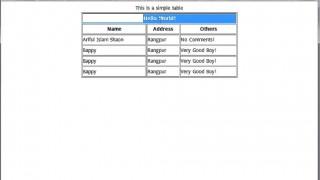 ওয়েব ডিজাইনে হাতে খড়ি পর্ব-১১ (Table   Part 2)