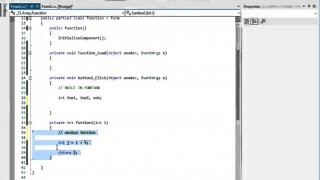 C# প্রোগ্রামিং টিউটো পর্ব-১৬ (Function)